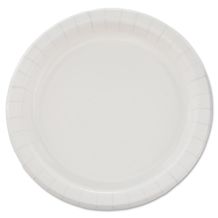 Dart Bare Eco-Forward Clay-Coated Paper Dinnerware, Plate, 8 1/2