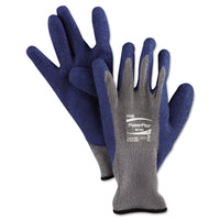 AnsellPro PowerFlex Gloves, Blue/Gray, Size 10, 1 Pair