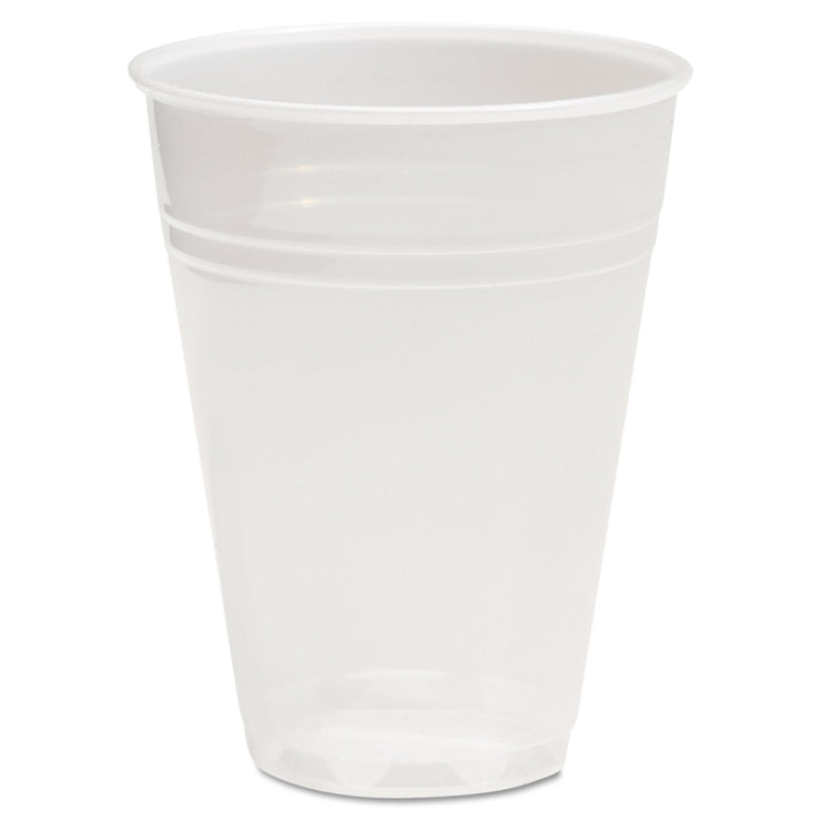 Boardwalk Translucent Plastic Cold Cups, 7oz, 100/Pack