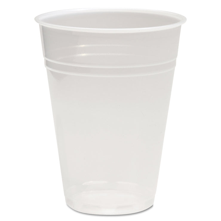 Boardwalk Translucent Plastic Cold Cups, 10oz, 1000/Carton
