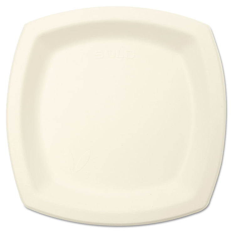 Dart Bare Eco-Forward Sugarcane Dinnerware, 6 7/10