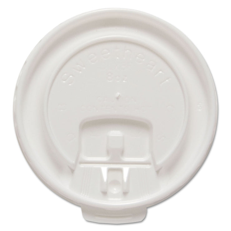Dart Liftback & Lock Tab Cup Lids for Foam Cups, Fits 8 oz Trophy Cups, WE, 100/PK