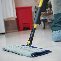 "HYGEN Pulse 18"" Double Sided Microfiber Spray Mop with Frame and Mop Pads"