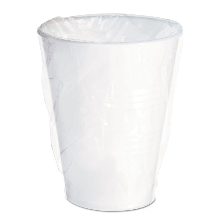 Dart Conex Galaxy Polystyrene Plastic Cold Cups, 9 oz, Individually Wrapped, 1000/Ct