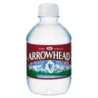 Arrowhead Natural Spring Water, 8 oz Bottle, 48 Bottles/Carton