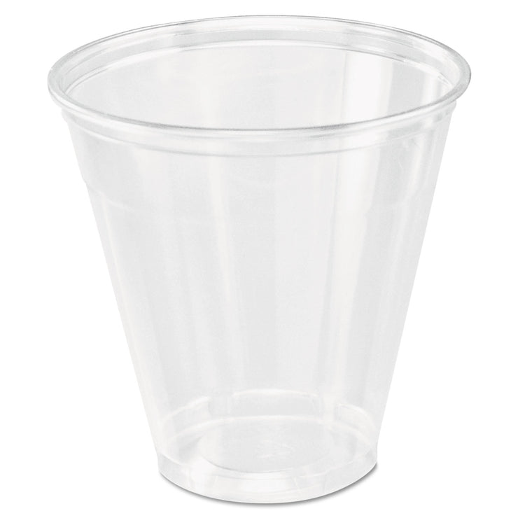 Dart Ultra Clear Cups, 5 oz., PET, 100/Bag