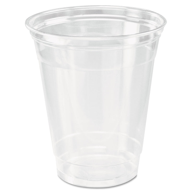 Dart Ultra Clear Cups, Squat, 12-14 oz, PET, 50/Bag, 1000/Carton