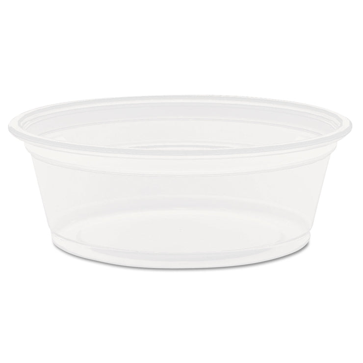Dart Conex Complement Translucent Portion Cups, 1 1/2 oz., 125/Bag