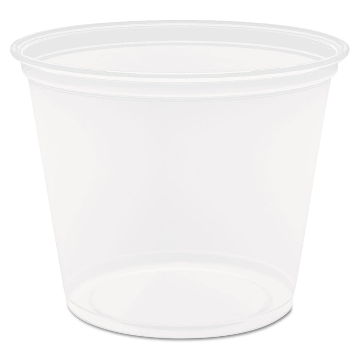Dart Conex Complement Portion Cups, 5 1/2 oz., Translucent, 125/Bag