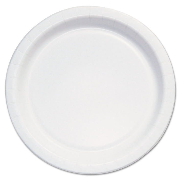Dart Bare Eco-Forward Clay-Coated Paper Plate,6