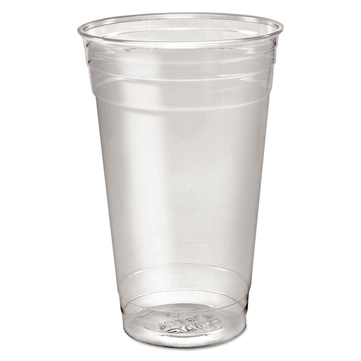 Dart Ultra Clear PETE Cold Cups, 24 oz, Clear, 50/Sleeve, 12 Sleeves/Carton