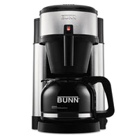 BUNN 10-Cup Velocity Brew NHS Coffee Brewer, Black, Stainless Steel