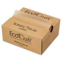 Bagcraft EcoCraft Interfolded Soy Wax Deli Sheets, 6 x 10 3/4, 1000/Box, 10 Boxes/Carto n
