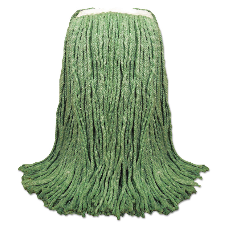 Boardwalk Cut-End Yarn Mop Head, Green, 1 1/4