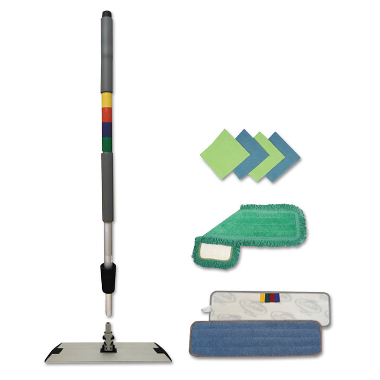 Boardwalk Microfiber Mopping Kit, 18