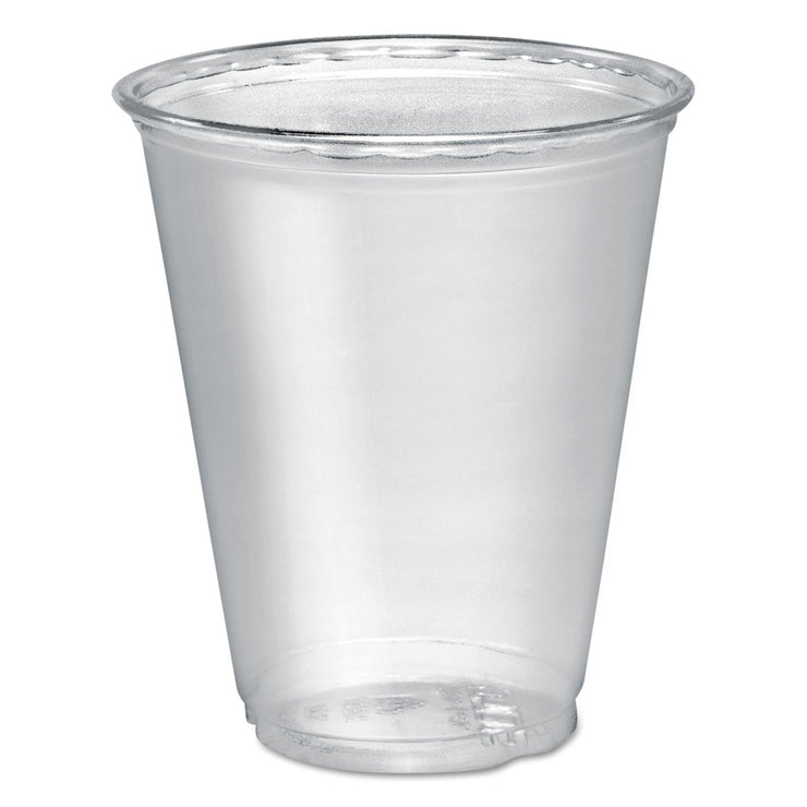 Dart Ultra Clear PETE Cold Cups, 7 oz, Clear, 50/Sleeve