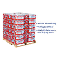 Crystal Geyser Alpine Spring Water, 16.9 oz Bottle, 24/Case, 84 Cases/Pallet