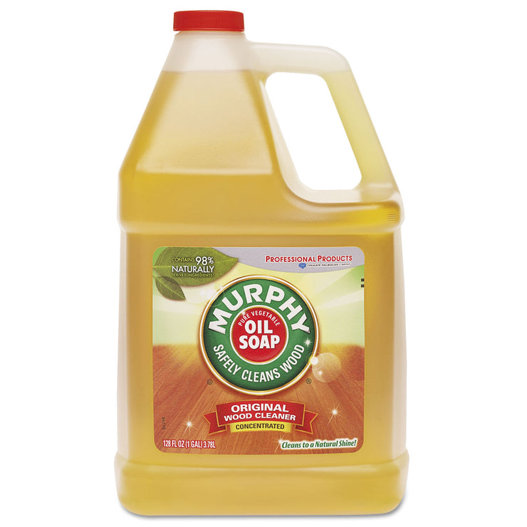 Murphy Oil Soap Cleaner, Murphy Oil Liquid, 1 Gal Bottle
