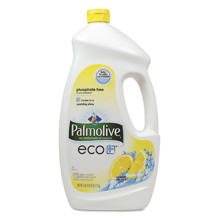 Palmolive Automatic Dishwashing Gel, Lemon, 75oz Bottle