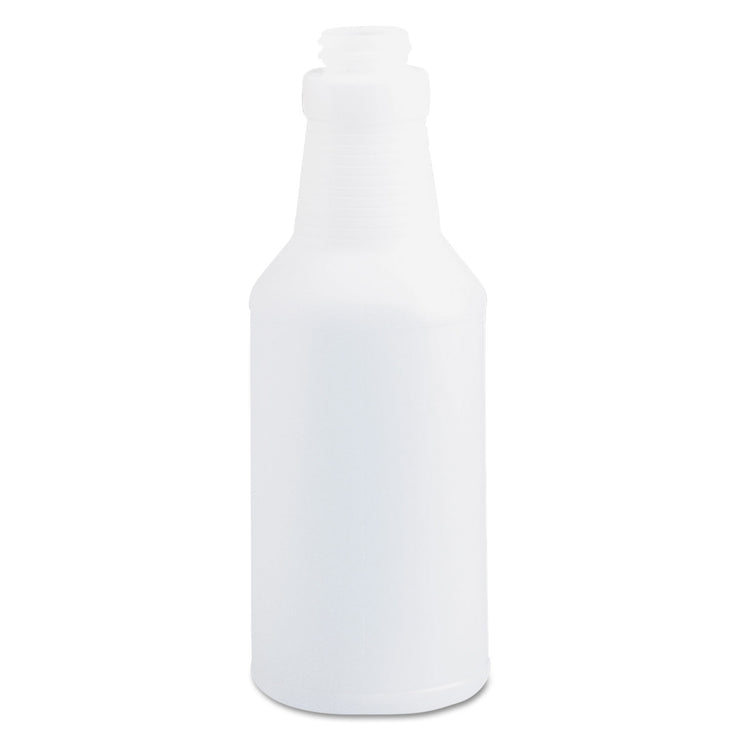 Boardwalk Handi-Hold Spray Bottle, 16 oz, Clear, 24/Carton