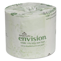 Georgia Pacific Professional One-Ply Bathroom Tissue, 1210 Sheets/Roll, 80 Rolls/Carton