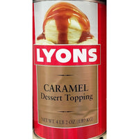 LYONS CARAMEL TOPPING 6/NO 5
