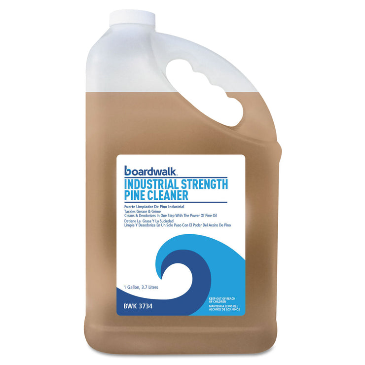 Boardwalk Industrial Strength Pine Cleaner, 1 Gallon Bottle, 4/Carton