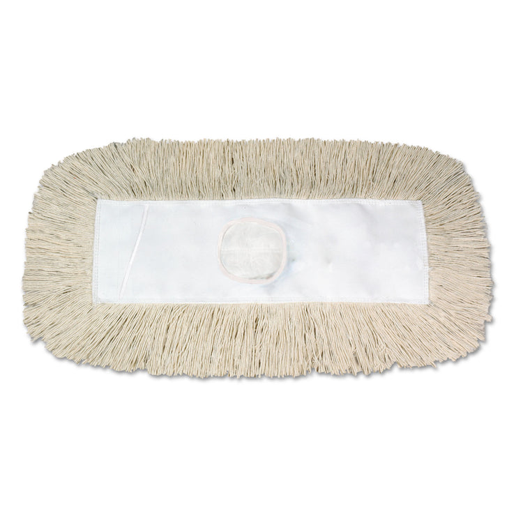 Boardwalk Dust Mop, Disposable, 5 x 30, White