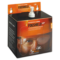Bausch & Lomb Sight Savers FogShield Disposable Lens Cleaning Station, 12 oz Bottle, 1425 Tissues