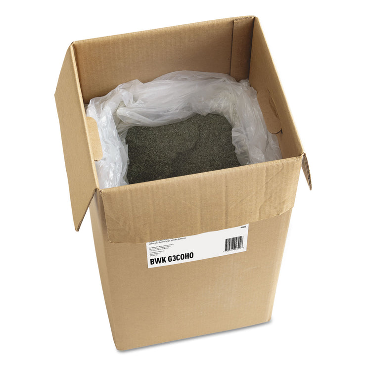 Boardwalk Oil-Based Sweeping Compound, Grit-Free, Green, 50lbs, Box