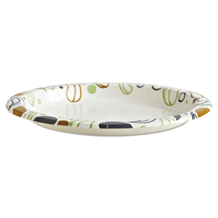 Boardwalk Deerfield Printed Paper Plates, 9