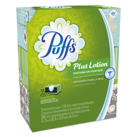 Puffs Plus Lotion Facial Tissue, White, 2-Ply, 116/Box, 3 Boxes/Pack