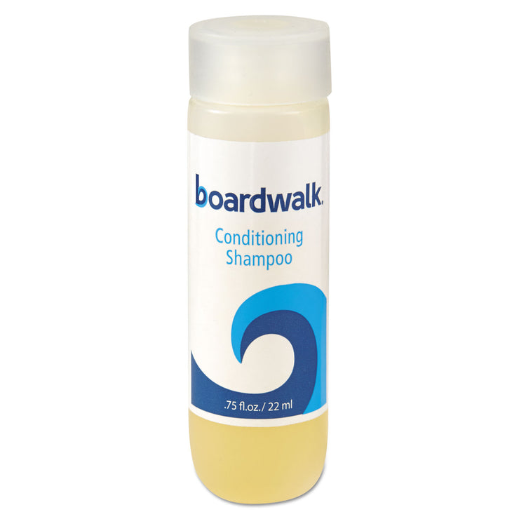 Boardwalk Conditioning Shampoo, Floral Fragrance, 0.75 oz. Bottle, 288/Carton