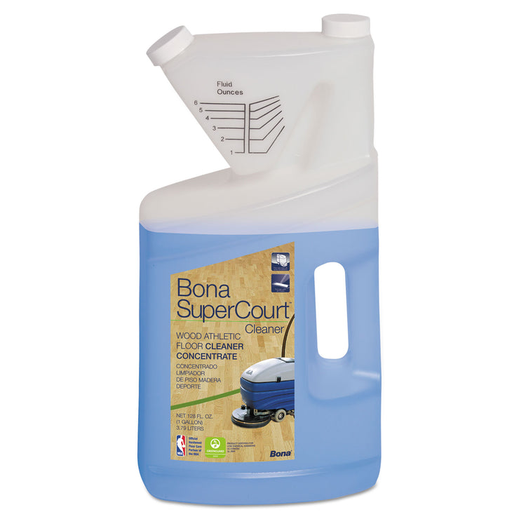 Bona SuperCourt Cleaner Concentrate, 1 gal Bottle