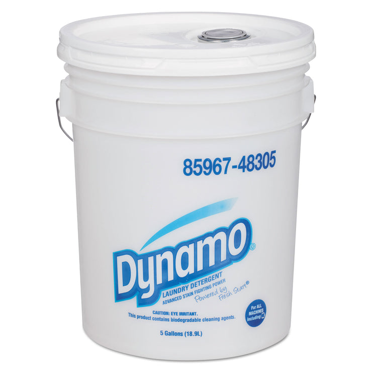 Dynamo Industrial-Strength Detergent, 5gal Pail