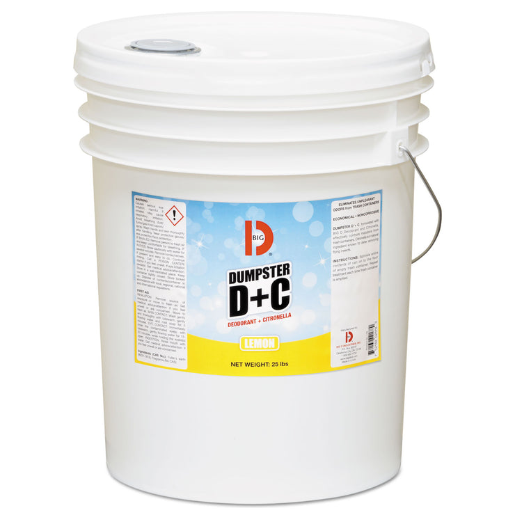 Big D Industries Dumpster D Plus C, Neutral, 25lb, Bucket