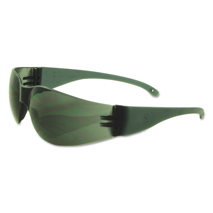 Boardwalk Safety Glasses, Gray Frame/Gray Lens, Polycarbonate, Dozen