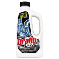 Drano Liquid Drain Cleaner, 32oz Safety Cap Bottle