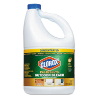 Clorox Outdoor Bleach, 120 oz Bottle, 3/Carton