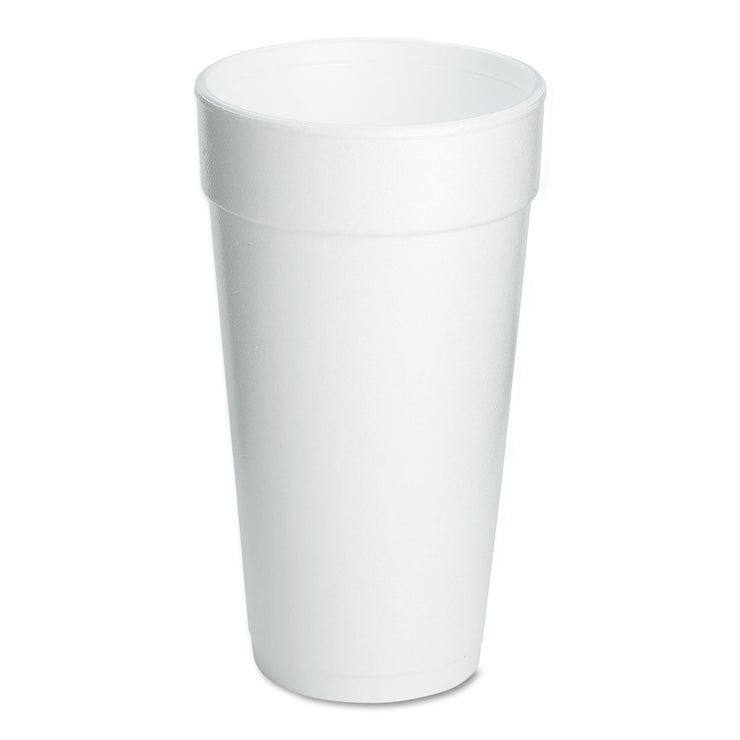 Dart Foam Drink Cups, 20oz, 500/Carton
