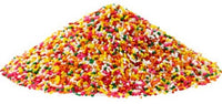 TOP-IT Carnival Sprinkles, Rainbow Jimmies 4/6lb