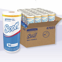 SCOTT CHOOSE-A-SHEET ROLL TOWEL 102SHT/ROLL 24RL/CS