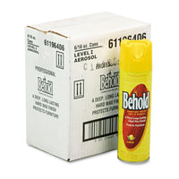 Ecolab Professional Behold Furniture Polish, 16oz Aerosol, Lemon, 6/Carton