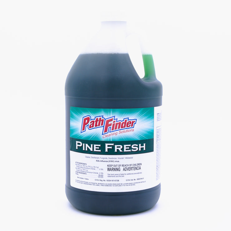 Pathfinder PINE FRESH DISINFECTANT CLEANER 4/1gal