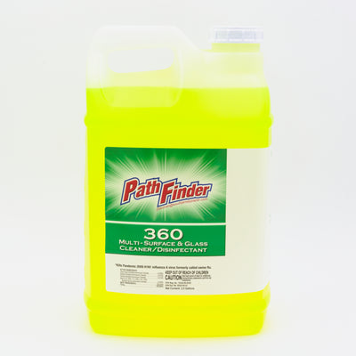 360 MULTISURFACE CLEANER  2/2.5 GALLON DISINFECTANT INCLUDES 1 SPIGOT