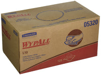 "WYPALL L10 WHITE UTILITY WIPER 18/125 CS  9""x10.25"""
