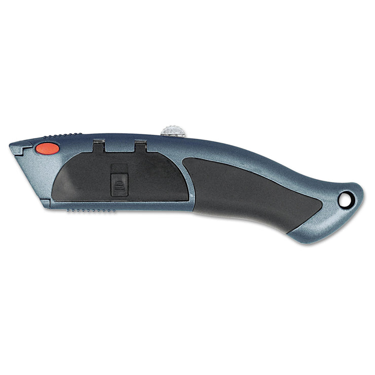 Clauss Auto-Load Razor Blade Utility Knife with Ten Blades