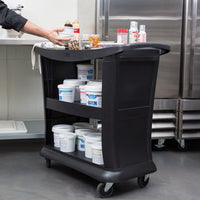 EXECUTIVE SERVICE CART BLACK