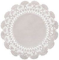 "10"" WHITE DOILIE CAMBRIDGE LACE 1000/BX"