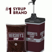HERSHEY CHOCOLATE SYRUP POUCHES 4/64oz